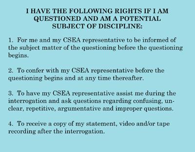 Weingarten (Interrogation) Rights – CSEA Local 834