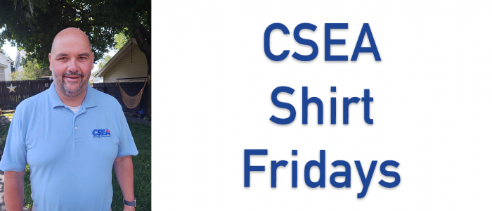 CSEA Shirt Fridays! Show your support and solidarity and wear your blue CSEA polo shirt every Friday!