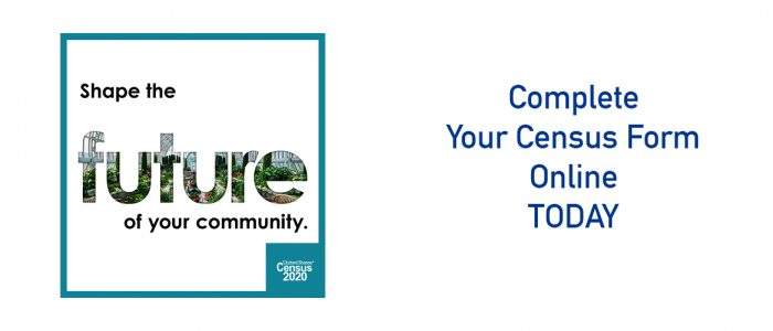 Shape Your Future - fill out your census online today!