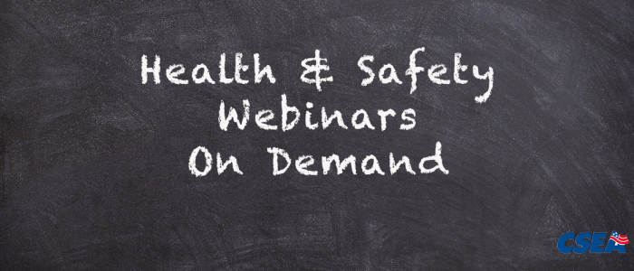 Health and Safety Webinars on Demand